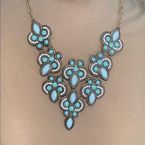 Jewelry - Aqua Statement Necklace